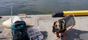釣りに行く時に持って行く道具_携帯性に優れて動きやすいようにする&あったら絶対便利